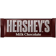 Hershey Chocolate Bar – Plain