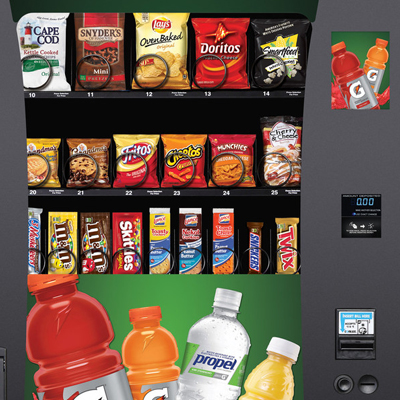 Riverside, CA vending: Two In One Machines!
